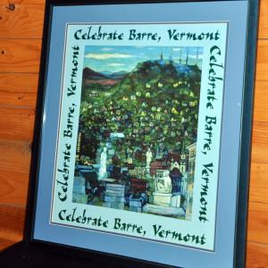 CelebrateBarre-poster-framed