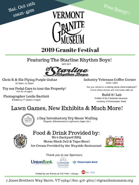 Granite Festival 2019